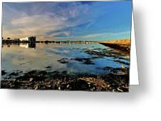Granton Harbour Greeting Card