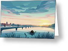 Grays Lake Greeting Card by Clint Hansen