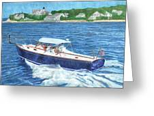 Great Ackpectations Nantucket Greeting Card by Dominic White