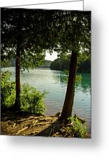 Green Lake, Ny Greeting Card