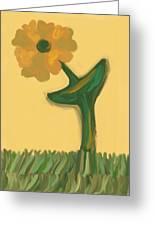 Growing Bronze Greeting Card