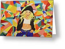 Gwen Greeting Card