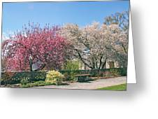 Springtime At Untermyer Park Greeting Card