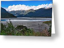 Haast Valley - New Zealand Greeting Card