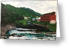 Hakone In Natural Splendor Greeting Card