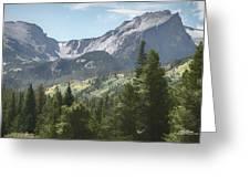 Hallett Peak Colorado Greeting Card