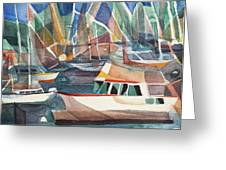 Harbor Island Greeting Card