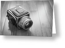Hasselblad On The Floor Greeting Card