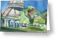 Haupt Conservatory At Nybg Greeting Card