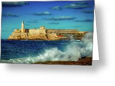 Havana's Morro Castle Greeting Card