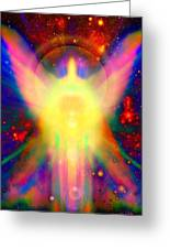 Healing With Light  Greeting Card