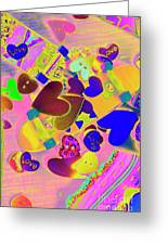 Heart Stack - Fallen For Sk8 Greeting Card