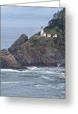 Heceta Head Light Greeting Card