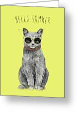 Hello Summer  Greeting Card