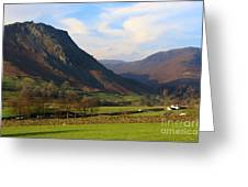 Helm Crag And Wythburn Fells Above Grasmere In The Lake District Greeting Card