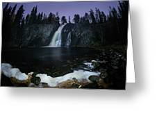 Hepokongas Waterfall Greeting Card