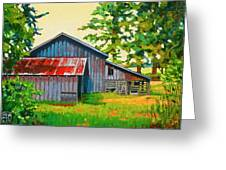Hidden Sheep Barn Greeting Card