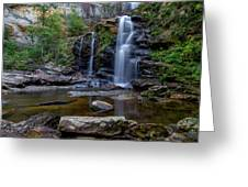High Falls Majesty Greeting Card