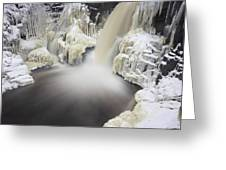 High Falls Pool Greeting Card
