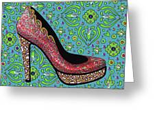 High Heel Party Greeting Card