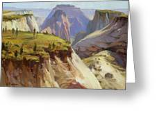 High On Zion Greeting Card