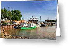 Hightide At Delhaven  Greeting Card