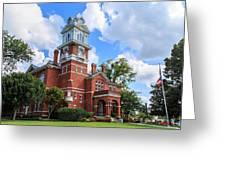 Historic Gwinnett County Courthouse Greeting Card by Doug Camara