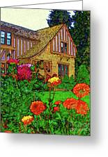 Home And Garden Greeting Card