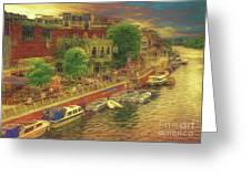 Hometown Glow Greeting Card