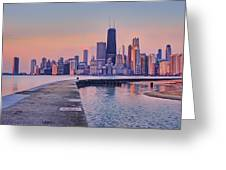 Hook Pier - North Avenue Beach - Chicago Greeting Card