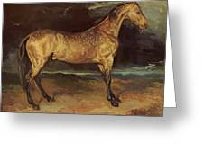 Horse In The Storm 1821 Greeting Card
