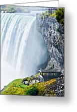 Horseshoe Fall, Niagara Falls, Ontario Greeting Card