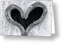 Horseshoe Heart Greeting Card