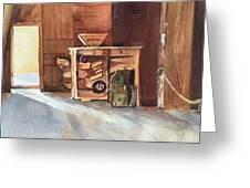 Hovander Park Old Barn, Wa Greeting Card