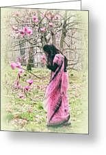 Scent Of Magnolia Greeting Card
