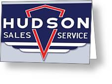 Hudson Motor Co. Greeting Card