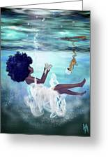 I Aint Drowning Greeting Card