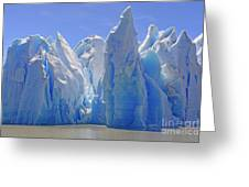 Ice Castles On A Sunny Day At The Grey Greeting Card