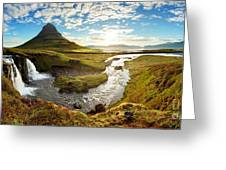 Iceland Landscape Greeting Card