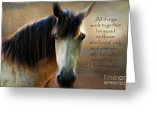 If Horses Could Talk - Verse Greeting Card