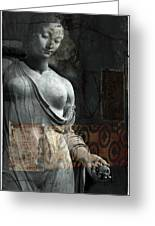 If Not For You - Statue Greeting Card