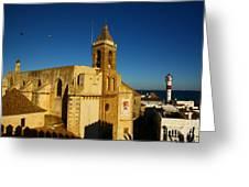 Iglesia De La O, Rota, Spain Greeting Card