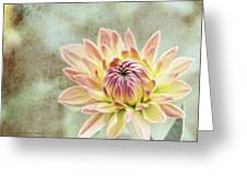 Impression Flower Greeting Card