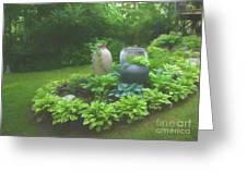 In Summer Shade Greeting Card