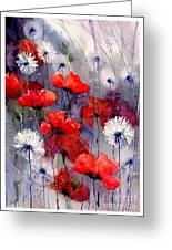 In The Night Garden - Sleeping Poppies Greeting Card
