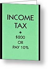 Income Tax Greeting Card