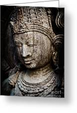 Indian Temple Goddess Greeting Card
