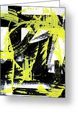 Industrial Abstract Painting II Greeting Card