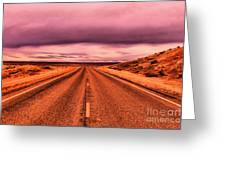 Into Nothingness  Greeting Card