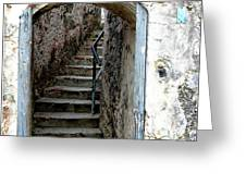 Into The Fort Greeting Card